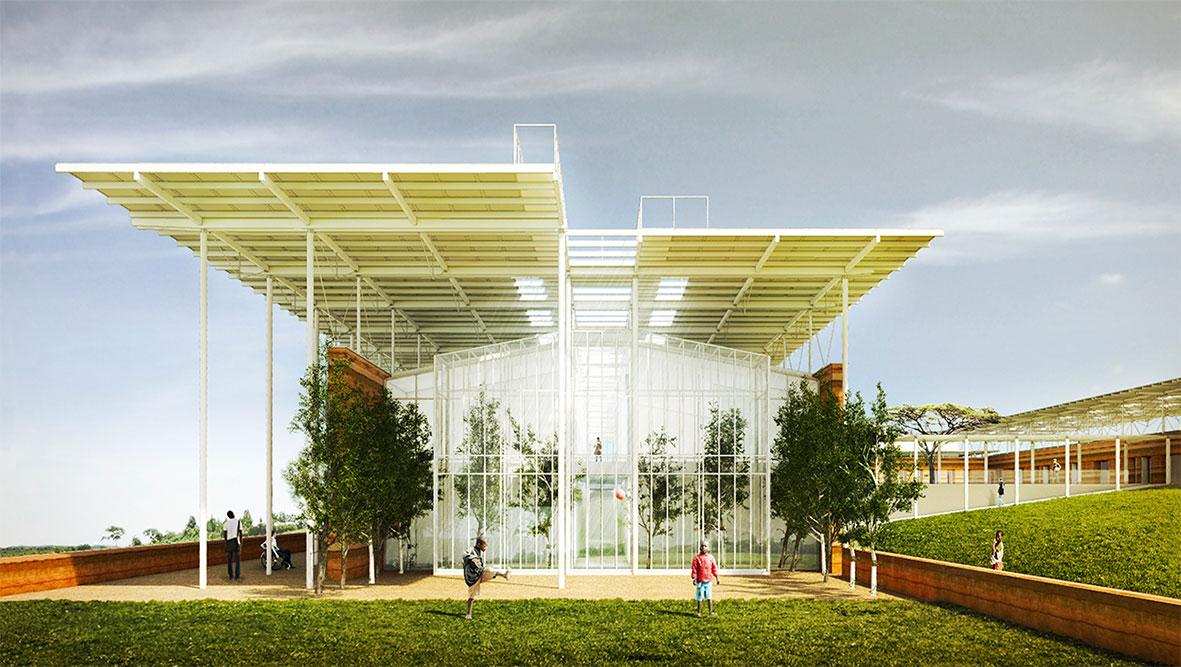 Children Surgery Centre With Renzo Piano Tamassociati